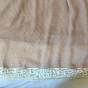 torrid Tops - Torrid 4 Cold shoulder lace trim blouse